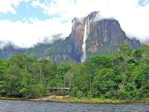 водопад анхель фото