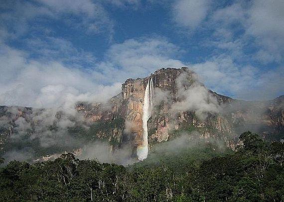 водопад мира анхель