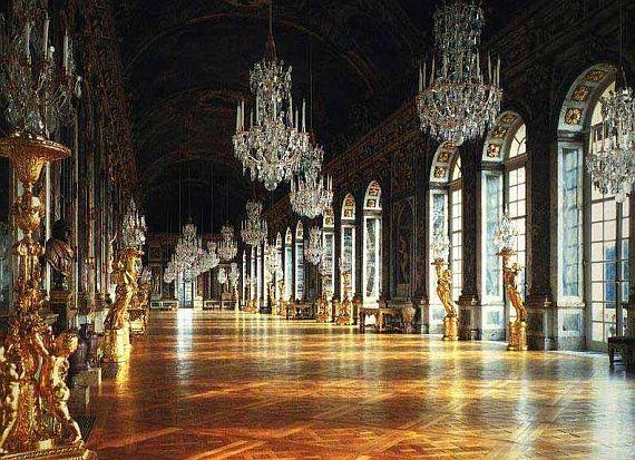 залы версальского дворца