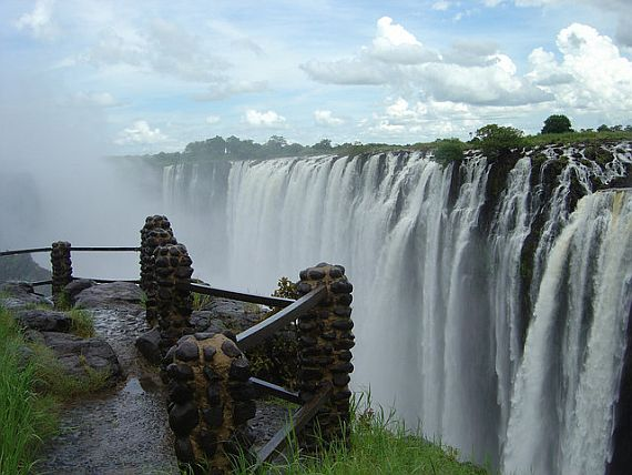 зимбабве водопад виктория