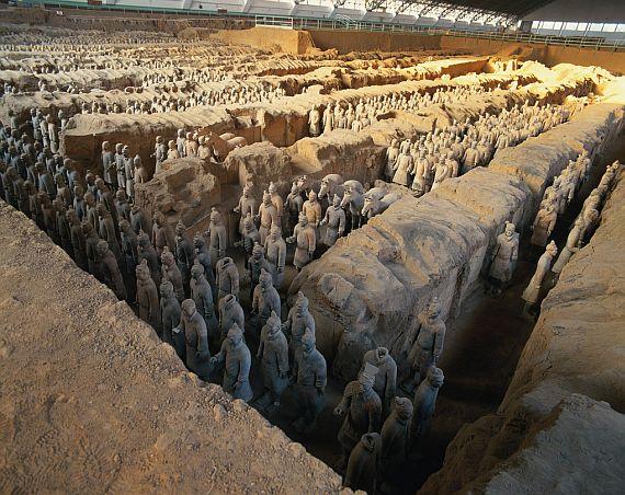 Терракотовая армия Шихуанди