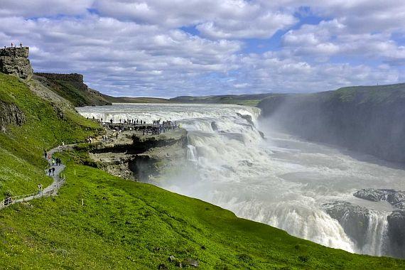 Золотой водопад