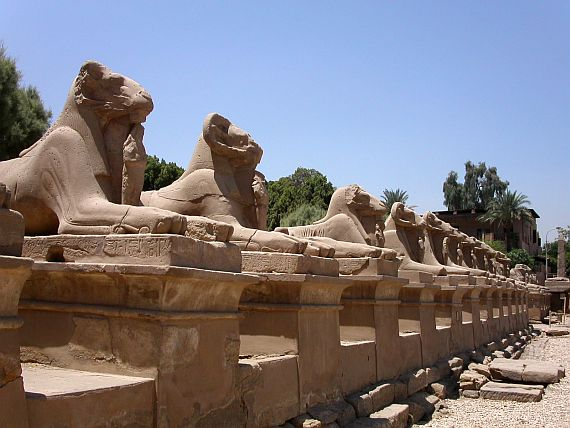 египет храм карнак