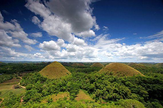 филиппины шоколадные холмы
