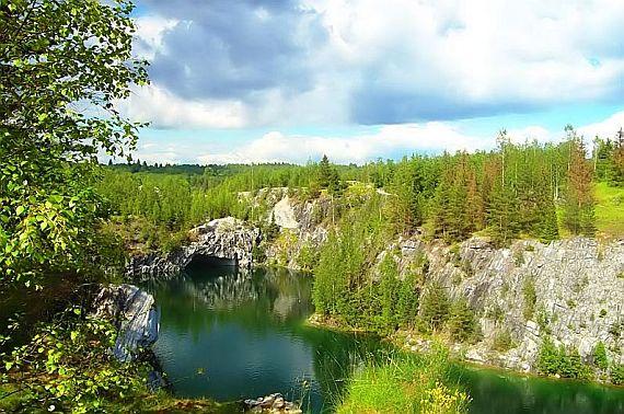 карелия рускеала мраморный каньон