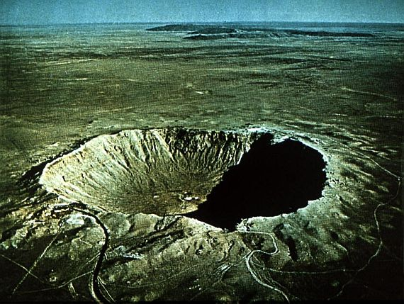 кратер возле каньона Дьябло