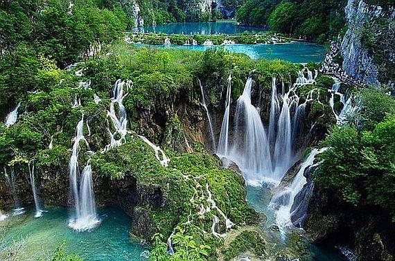 плитвицкие озера в хорватии фото