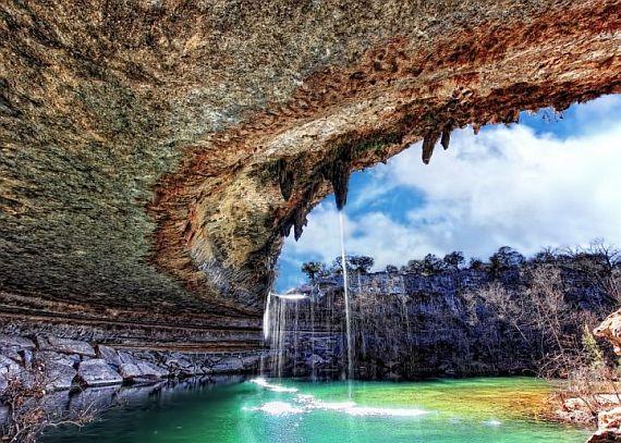 подземное озеро гамильтон пул