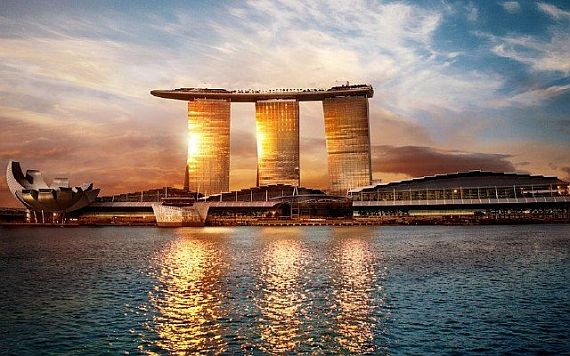 сингапур отель marina bay sands