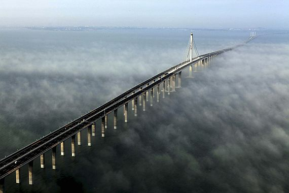Самый длинный мост мира в Китае