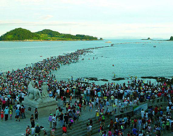 море в корее