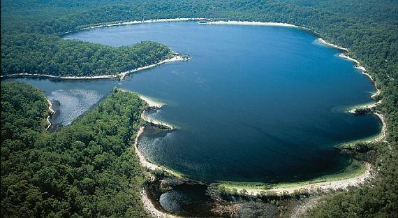 самое чистое озеро