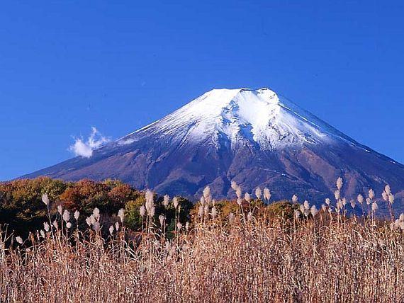 вулкан в японии фудзияма