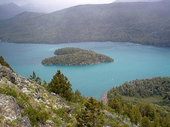 Остров в виде сердца Гутьеррес, Патагония