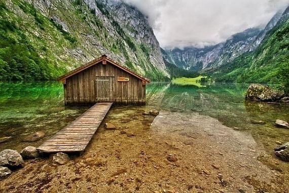 Озеро Оберси (Obersee) - райское место