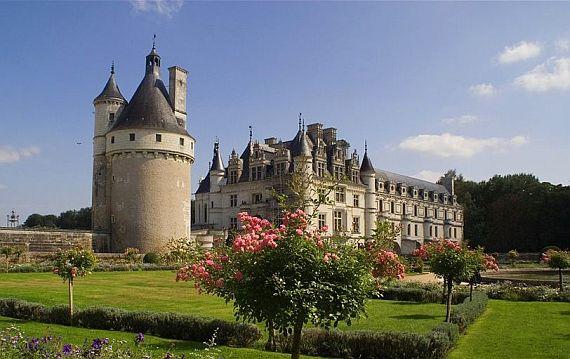 Замок Франции Шенонсо