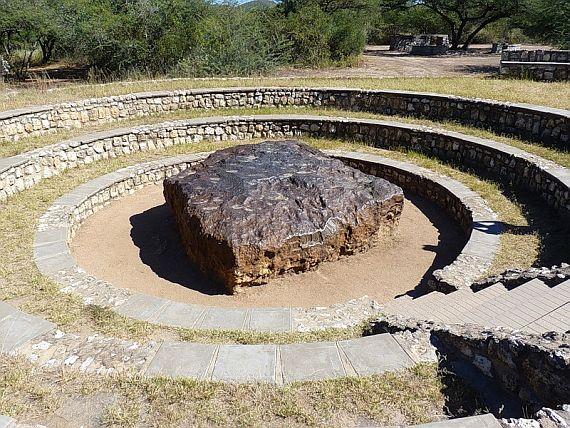 крупный метеорит
