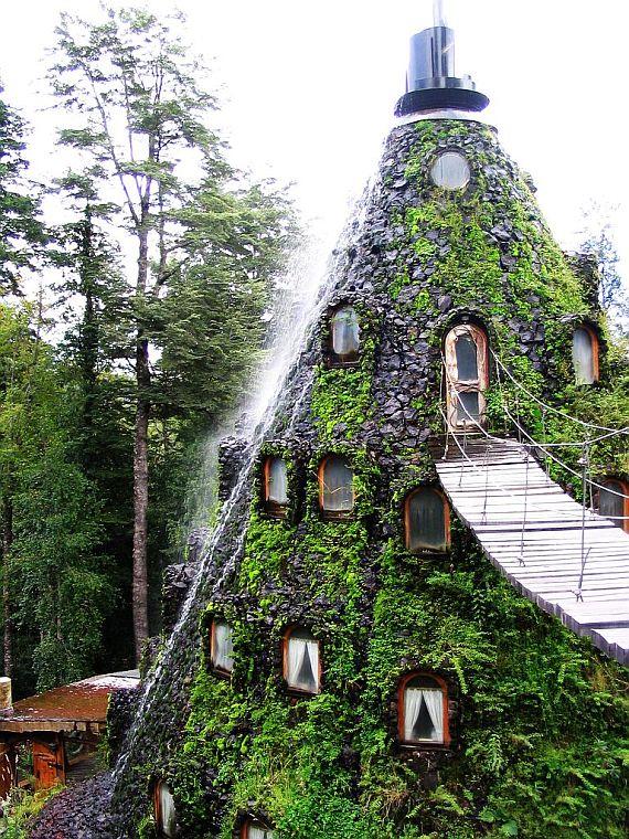 отель водопад