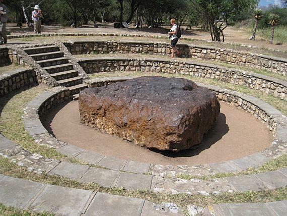 самый крупный метеорит