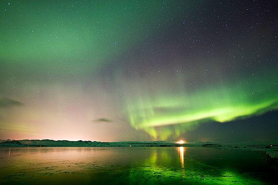 северное сияние фото