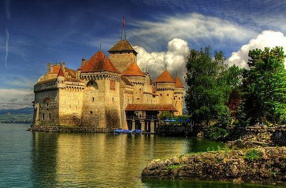 Картинки по запросу шильонский замок фото