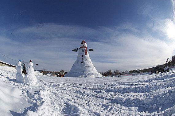 снеговики большие
