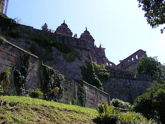 средневековый замок германии