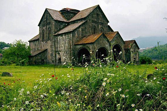Ахтала крепость в Армении