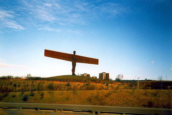 Ангел севера в Англии