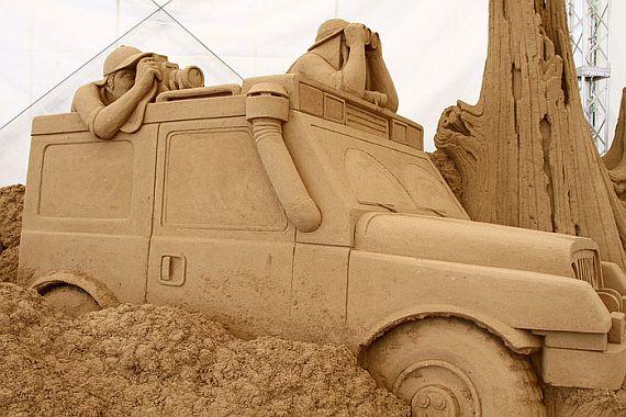 Японский музей песчанных скульптур
