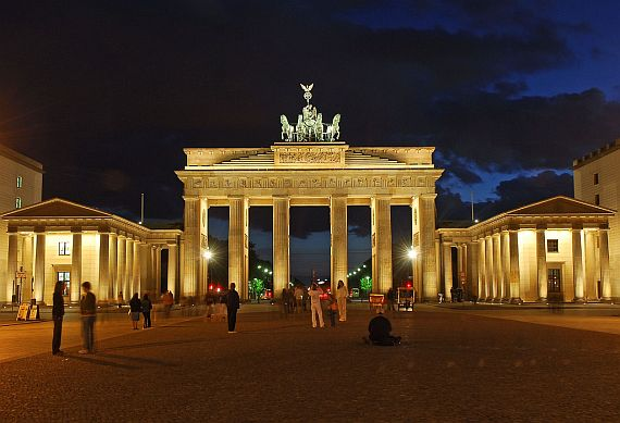 бранденбургские ворота германия