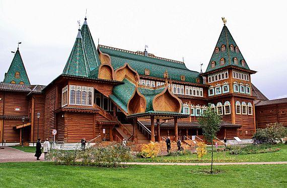 деревянный дворец в коломенском