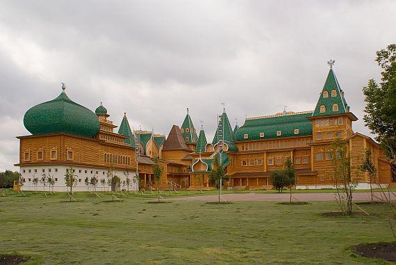 дворец в селе коломенском