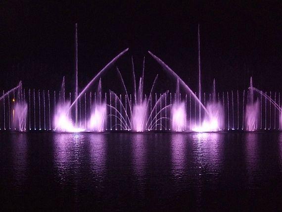 фонтан винница рошен