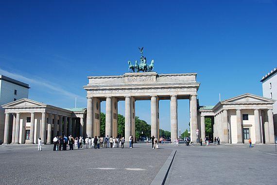фото бранденбургские ворота