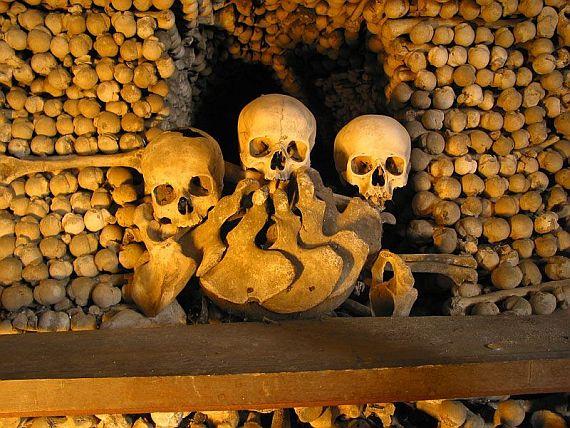 катакомбы в париже