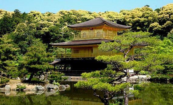 кинкакудзи золотой павильон