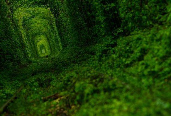 клевань тоннель любви