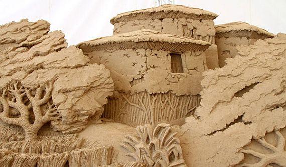 музей песчаных скульптур Японии