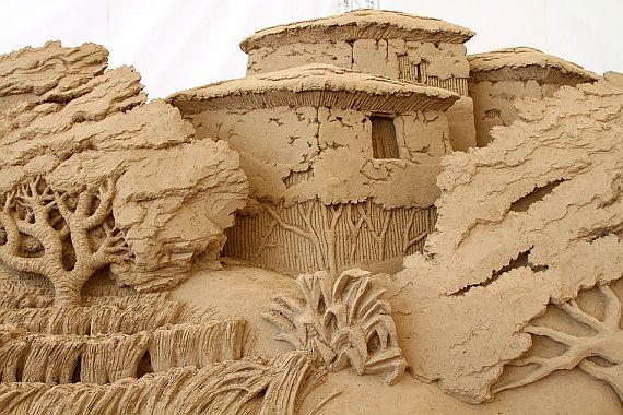 музей скульптур из песка