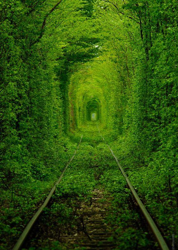 тоннель любви ровенская область