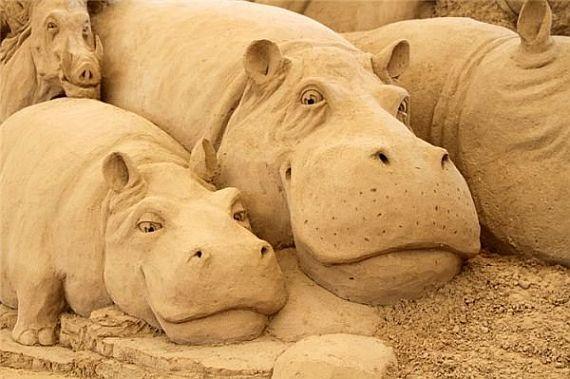 япония тоттори, музей песчанных скульптур