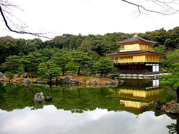 япония золотой павильон