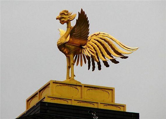 золотой павильон, феникс