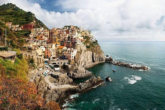 Чинкве Терре или Пять земель в Италии