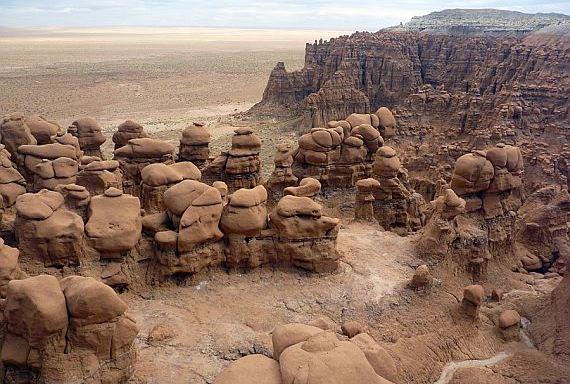 Долина гоблинов - мир камней!