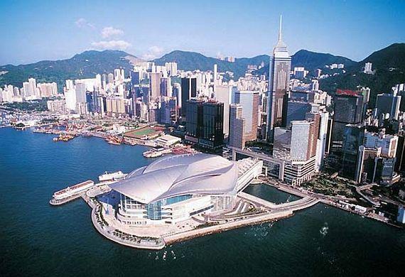 Гонконг (картинка со временем суток)