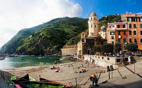 Италия Пять земель
