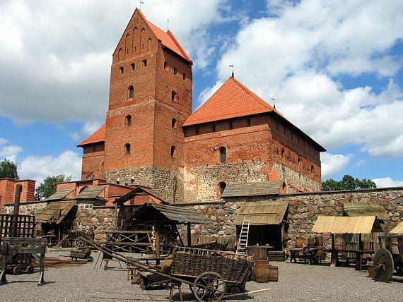 Литовский замок Тракай