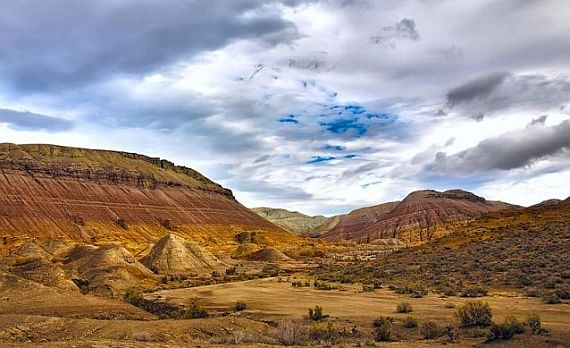 Меловые горы Актау